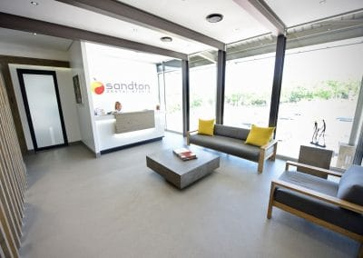Sandton Dental Studio Reception