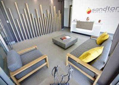 Sandton Dental Studio Waiting Area